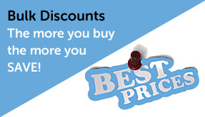 Bulk discounts available for lever backplate door handles