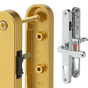 Double glazing door handles uk at for Upvc offset french doors