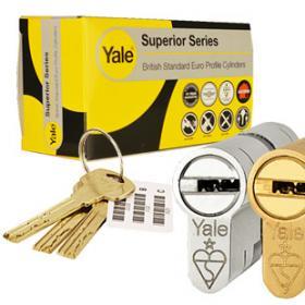 Yale 1* Euro Cylinders
