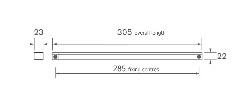 Diagram Image for GV3000-SET Trickle Vents