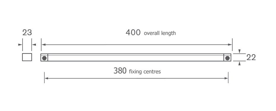 Diagram Image for GV4000-SET Trickle Vents