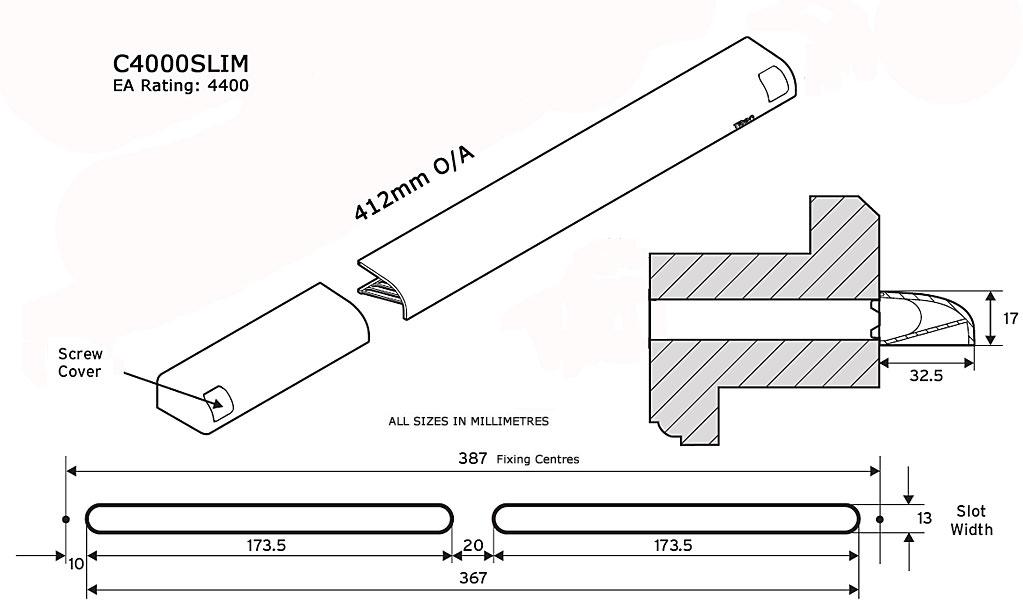 Diagram Image for C4000Slim External Canopy