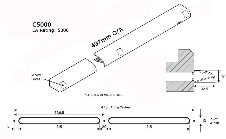 Diagram Image for C5000Slim External Canopy