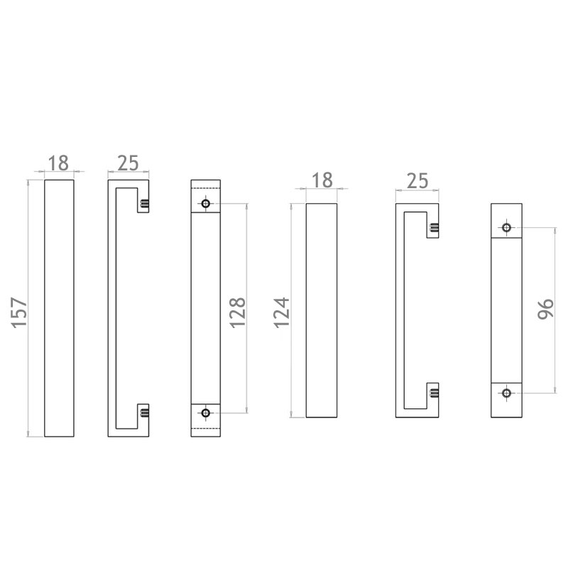 Diagram Image for CH410 Polaris Pull Handle