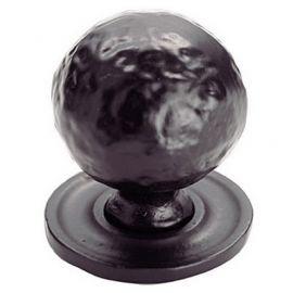 Ch106 Black Hammered Knobs Black Antique Size A