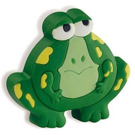 CH167 Frog Cabinet Knob, Green