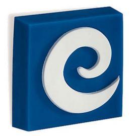 CH171 BLUE Swirl Cupboard Knob