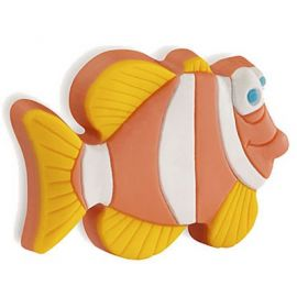 CH175 ORANGE Nemo Cupboard Handle