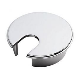 Ch206 Cabinet Cable Tidy Chrome Polished