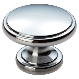 CH441 Style Cupboard Knob in Polished Chrome