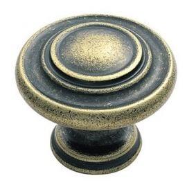 Ch95 Antique Cupboard Knobs Antique Brass