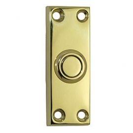 Victorian Bell Push Db02 Brass Polished