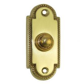 Regency Bell Push Db04 Brass Polished