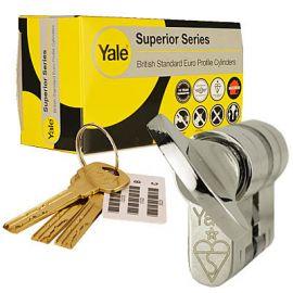 Yale Superior Euro Thumbturn T40 40 Chrome Polished