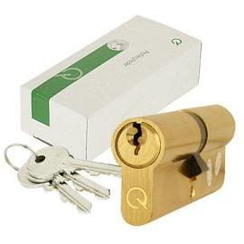 Bs Euro Lock 40 60 Brass 40/60