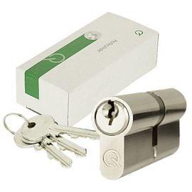 Bs Euro Lock 35 55 Bright Nickel