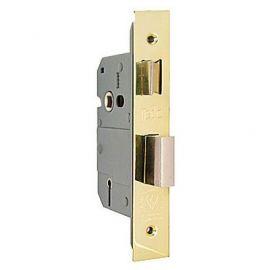 DL13 - 5 Lever Mortice Sashlock in Polished Brass