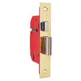 DL14 Era Mortice Locks in Polished Brass 63mm