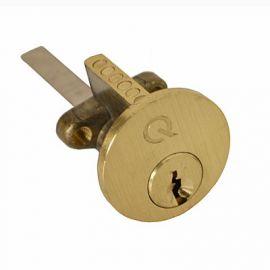 DL20 Polished Brass Rim Cylinder
