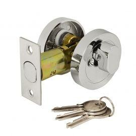 DL36 Key Locking Privacy Thumbturn, polished chrome