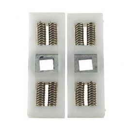 UPVC door handle double spring cassette