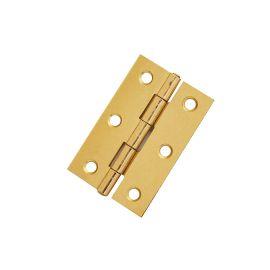 H14 Etched Brass Internal Door Hinge