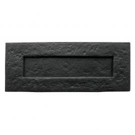 LB4 Antique Black Letterplate