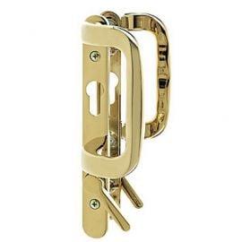 P07 Patio Door Handle Gold Polished
