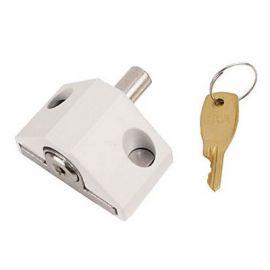 Patio Door Lock White