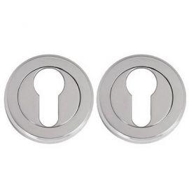 Z107 Escutcheon Lock Cover Chrome Polished