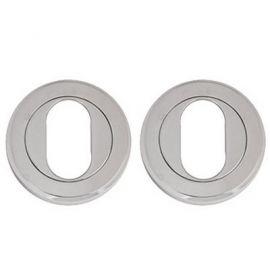 Z108 Escutcheon Lock Cover Chrome Polished