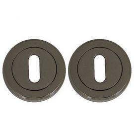 Z108 Escutcheon Lock Cover Black Nickel