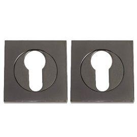 Z110 Escutcheon Lock Cover Black Nickel