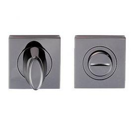 Z114 Escutcheon Lock Cover Black Nickel