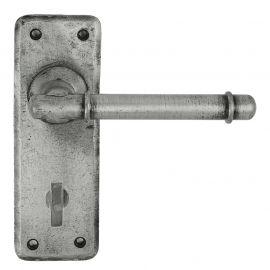 Z126 Bathroom Pewter Door Handle