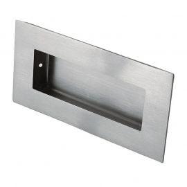 Z501 Stainless Flush Sliding Door Handle, Satin Stainless Steel