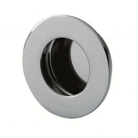 Z503 Circular Flush Sliding Door Handles Bright Stainless Steel