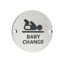 Baby ChangeDoor Sign