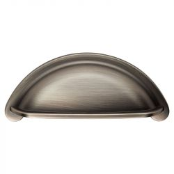 CH437 Cottage Cup Handle in Gun Metal Finish