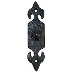 Fleur De Lys Bell Push Db01 Black