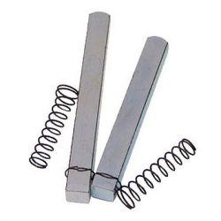 Split spindle for uPVC door locks.