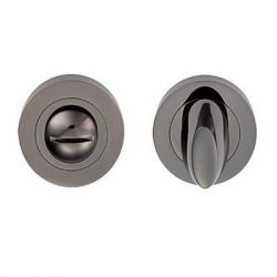 Z113 Escutcheon Lock Cover Black Nickel