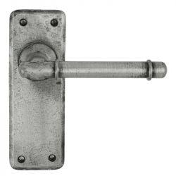 Z124 Latch Pewter Door Handle