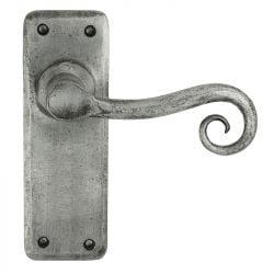 Z127 Latch Pewter Door Handle
