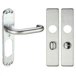 Z312 RTD  Square Bathroom Stainless Steel Door Handle