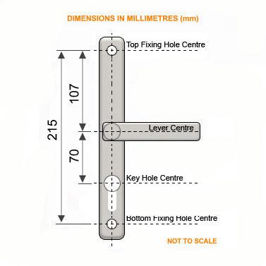Diagram Image for D26 Era Ikon - 70PZ - 215mm Centres