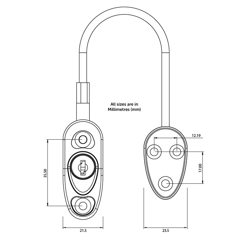 Diagram Image for R14 Cable Window Restrictor