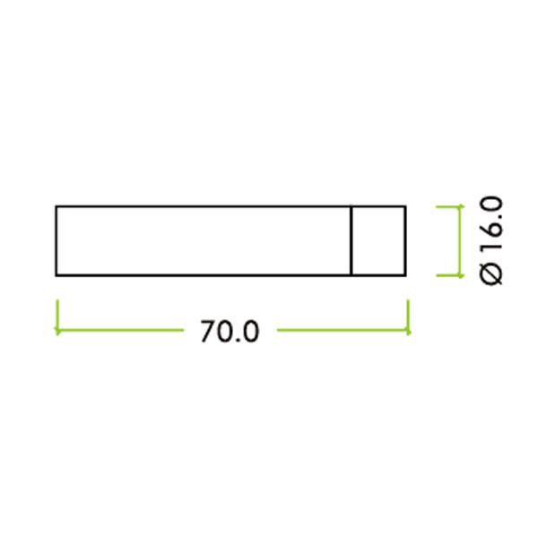 Diagram Image for R51 Cylinder Interior Door Stop