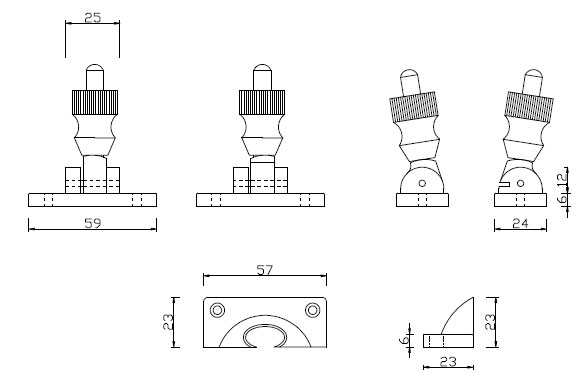 Diagram Image for SW03 - Brighton Fastener