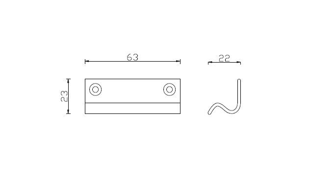 Diagram Image for SW07 - Bar Sash Lift